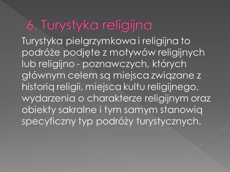 6. Turystyka religijna