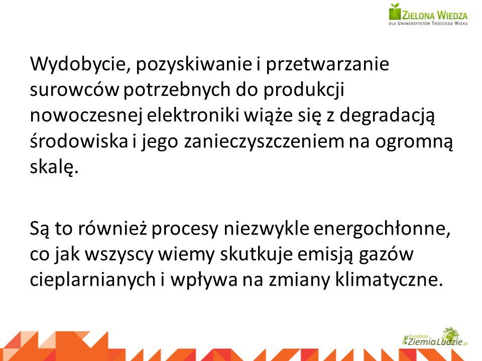 Moja Planeta bez elektrośmieci - materiał szkoleniowy