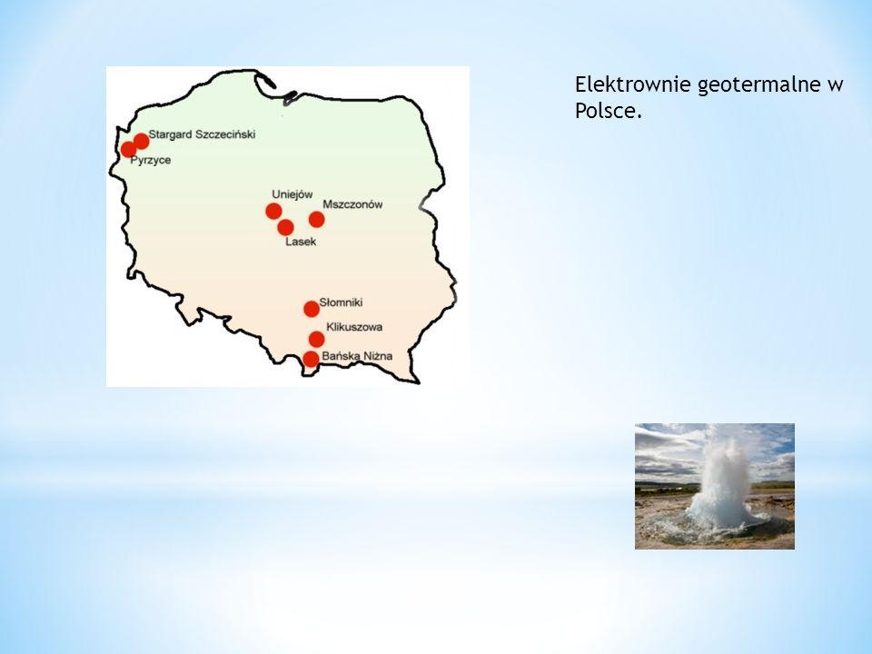 Elektrownie geotermalne w Polsce.