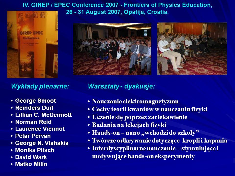 Nauczanie elektromagnetyzmu Cechy teorii kwantów w nauczaniu fizyki