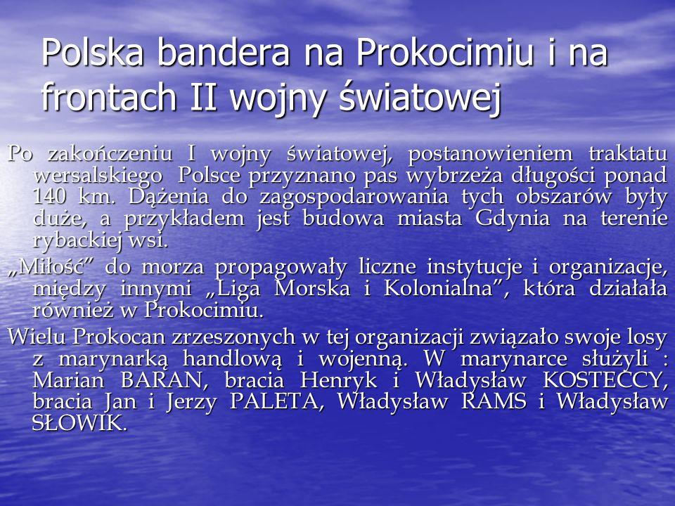 Polska bandera na Prokocimiu i na frontach II wojny światowej