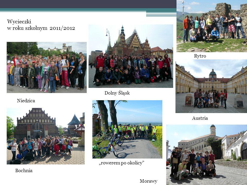 Wycieczki w roku szkolnym 2011/2012 Rytro Dolny Śląsk Niedzica Austria