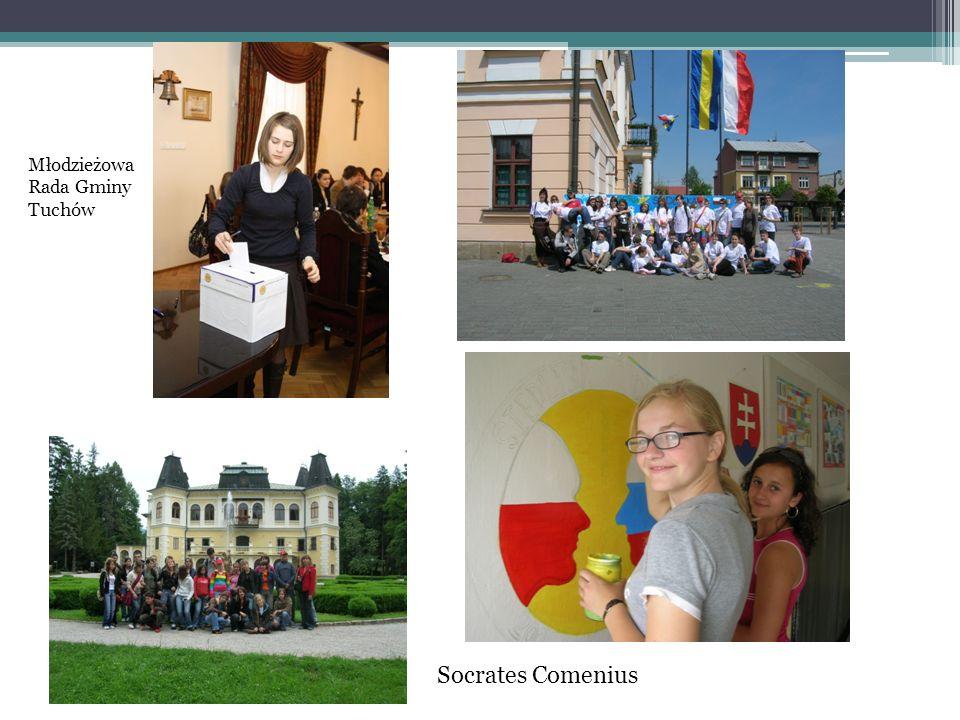 Młodzieżowa Rada Gminy Tuchów Socrates Comenius