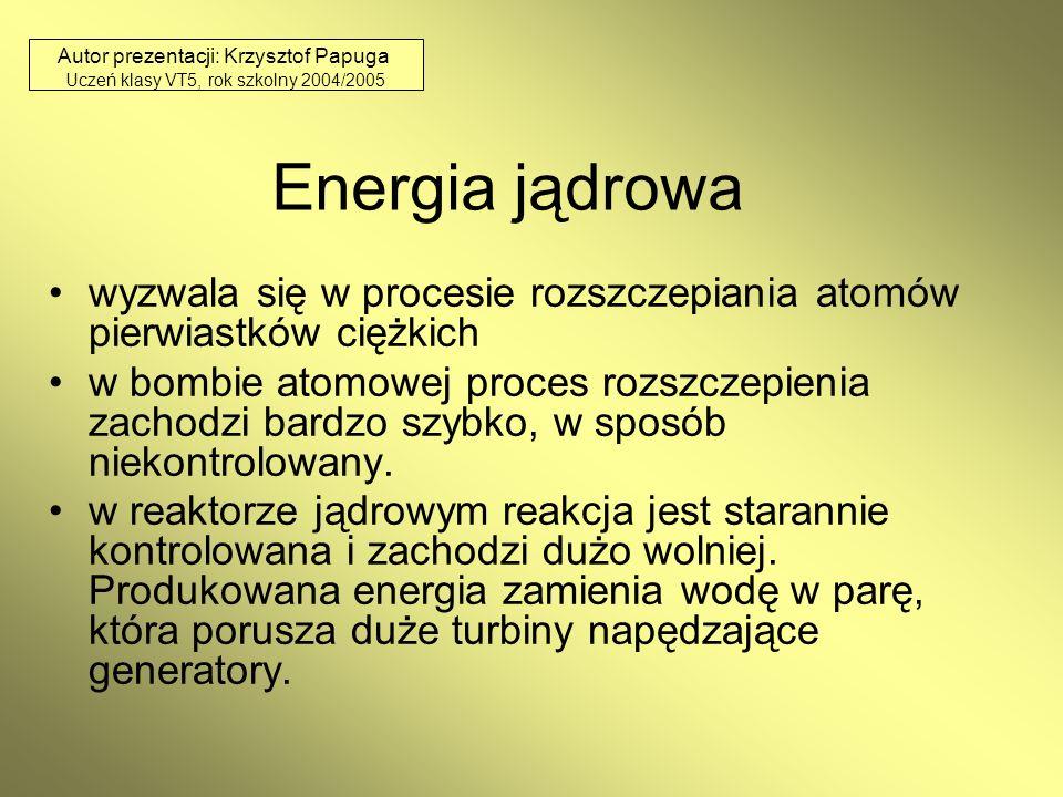 Autor prezentacji: Krzysztof Papuga