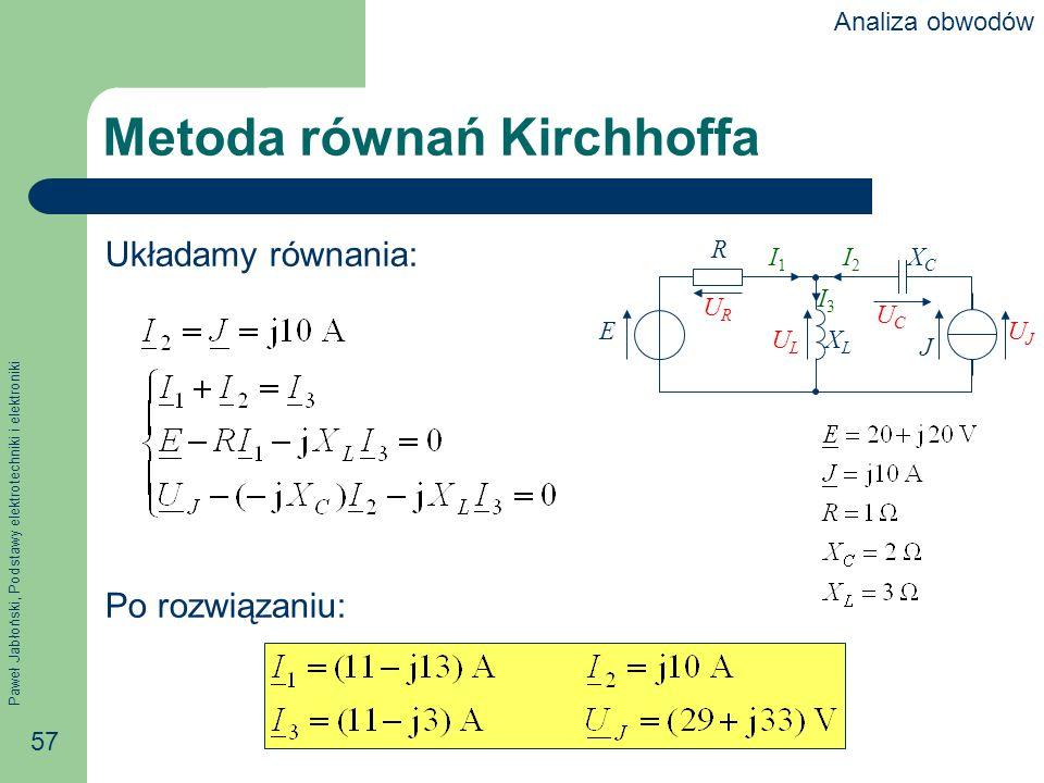 Metoda równań Kirchhoffa