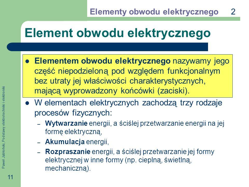 Element obwodu elektrycznego