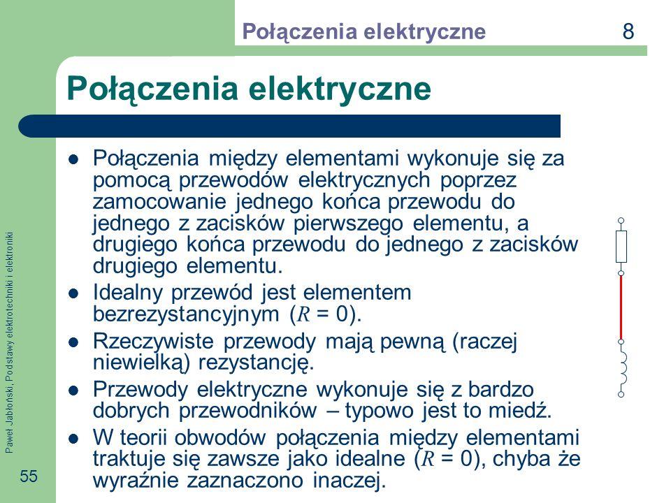 Połączenia elektryczne