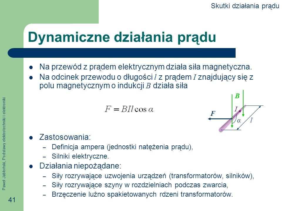 Dynamiczne działania prądu