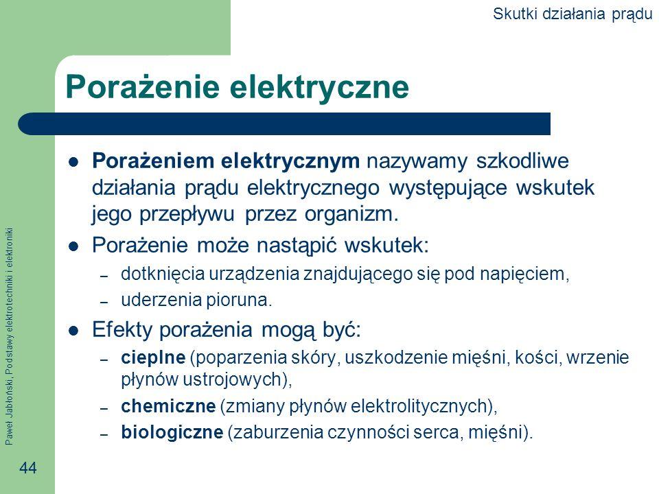 Porażenie elektryczne