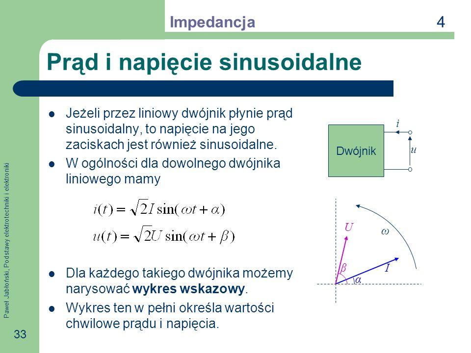 Prąd i napięcie sinusoidalne
