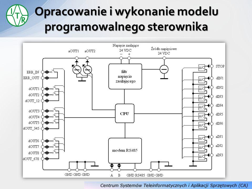 Opracowanie i wykonanie modelu programowalnego sterownika