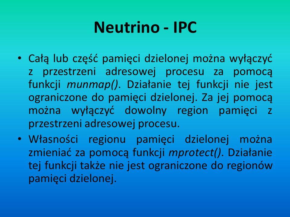 Neutrino - IPC