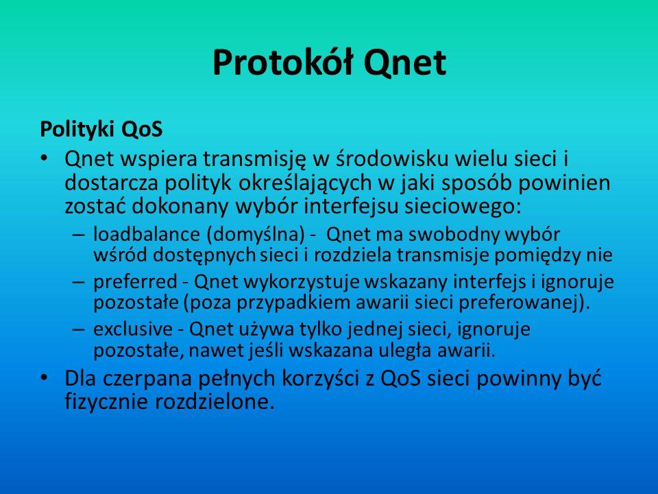 Protokół Qnet Polityki QoS