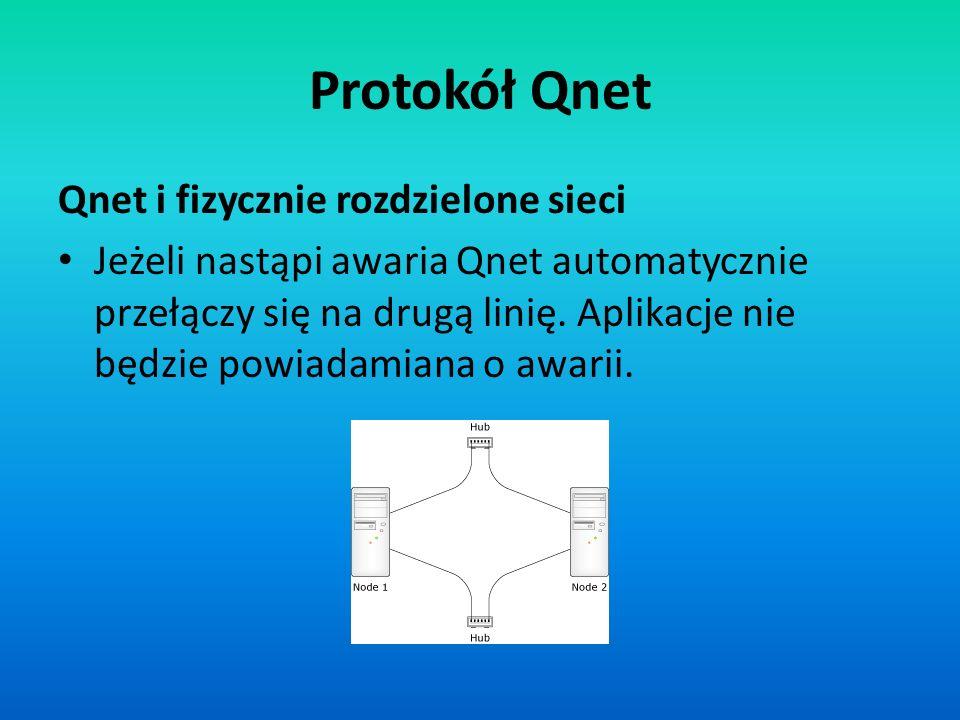 Protokół Qnet Qnet i fizycznie rozdzielone sieci