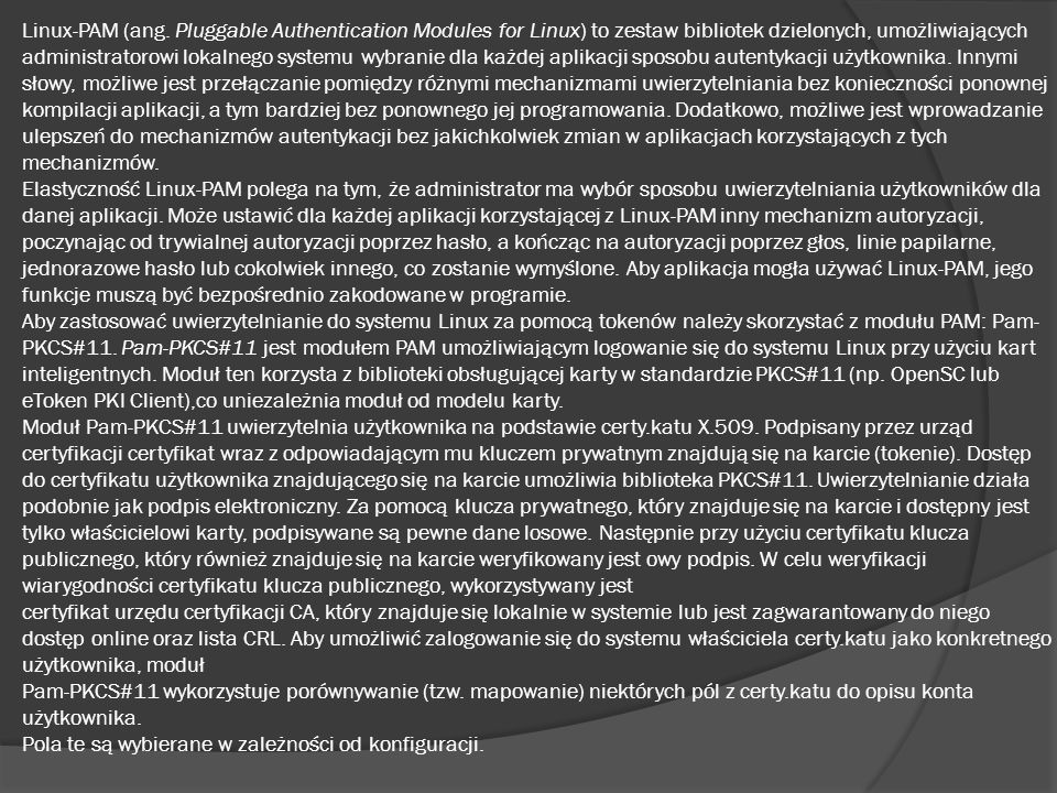 Linux-PAM (ang.