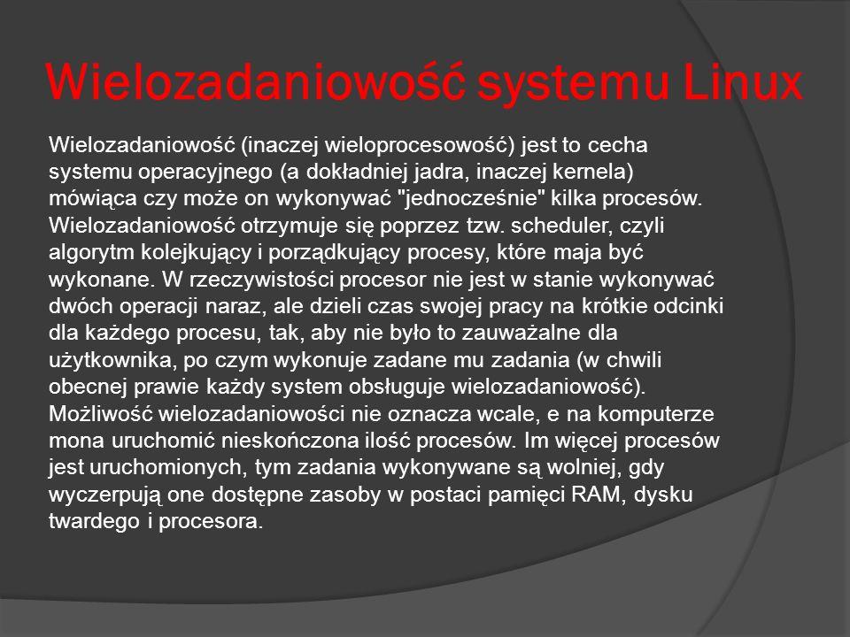 Wielozadaniowość systemu Linux