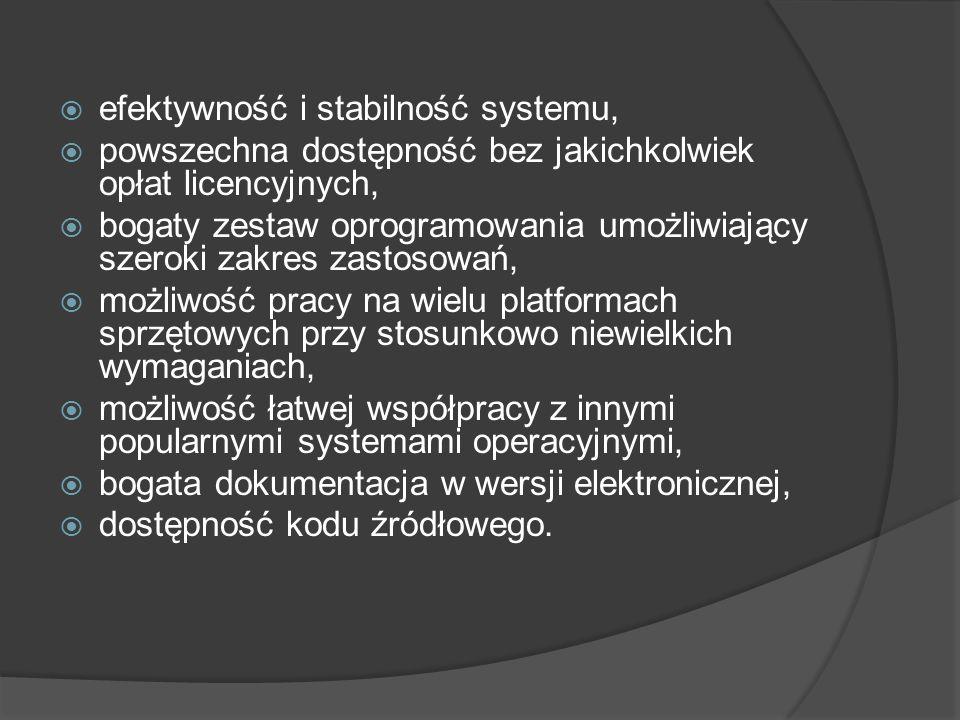 efektywność i stabilność systemu,
