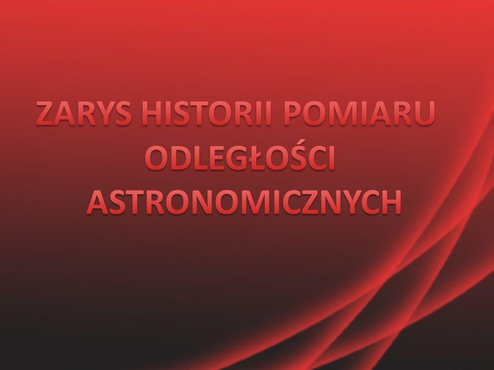 ZARYS HISTORII POMIARU