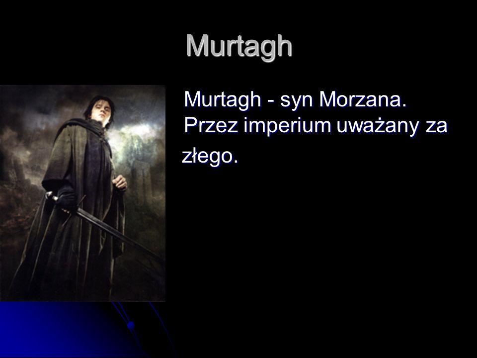 Murtagh Murtagh - syn Morzana. Przez imperium uważany za złego.
