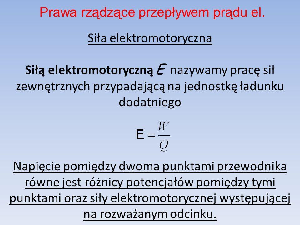 Prawa rządzące przepływem prądu el.