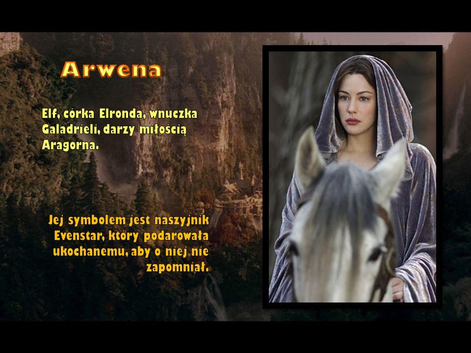Arwena Elf, córka Elronda, wnuczka Galadrieli, darzy miłością Aragorna.