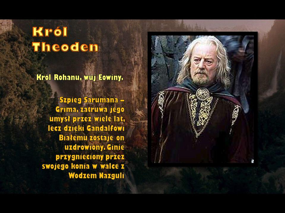 Król Theoden Król Rohanu, wuj Eowiny.