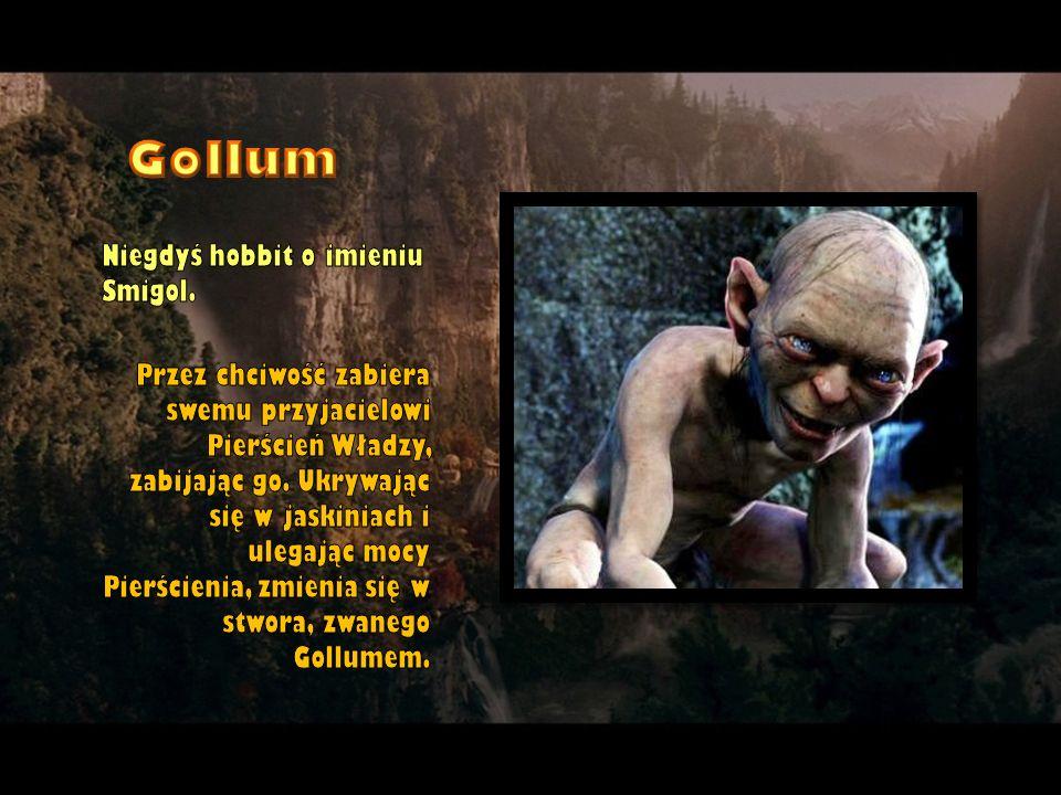 Gollum Niegdyś hobbit o imieniu Smigol.