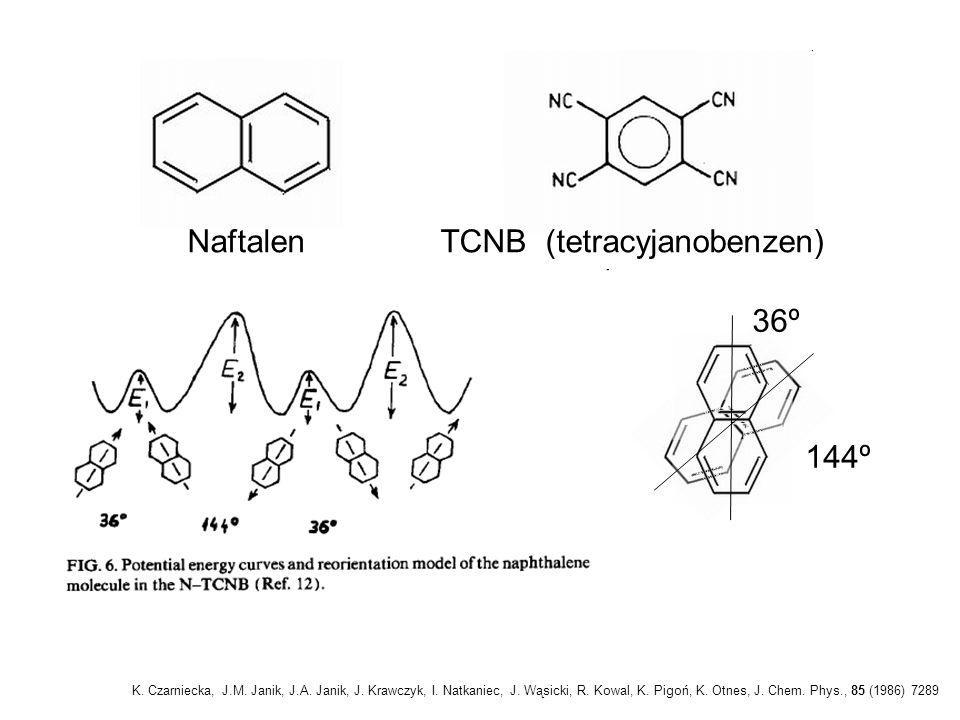 Naftalen TCNB (tetracyjanobenzen)