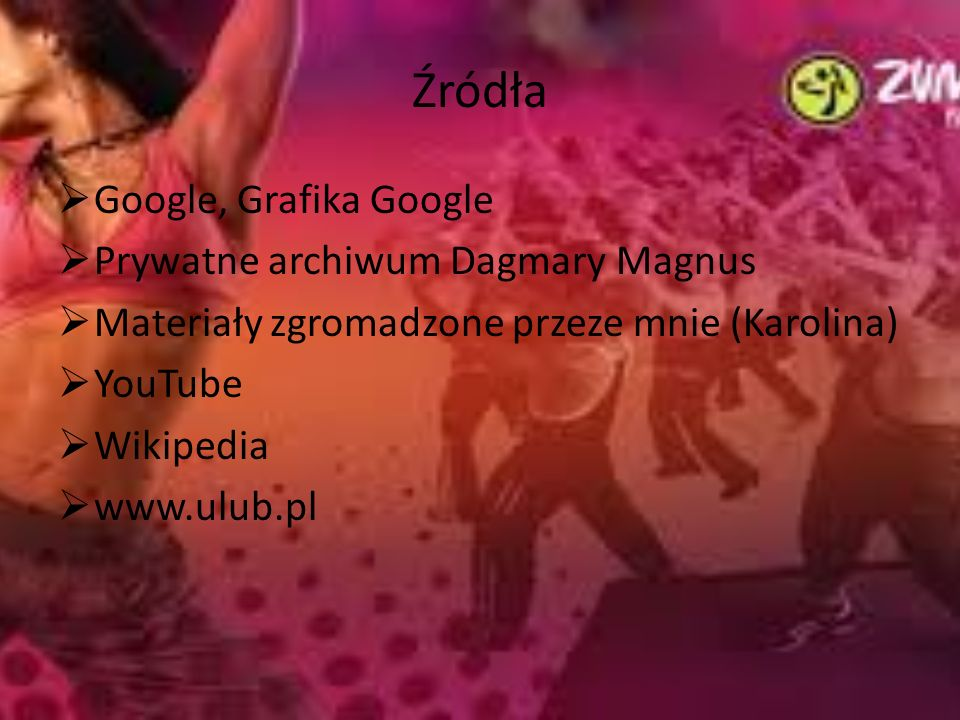 Źródła Google, Grafika Google Prywatne archiwum Dagmary Magnus