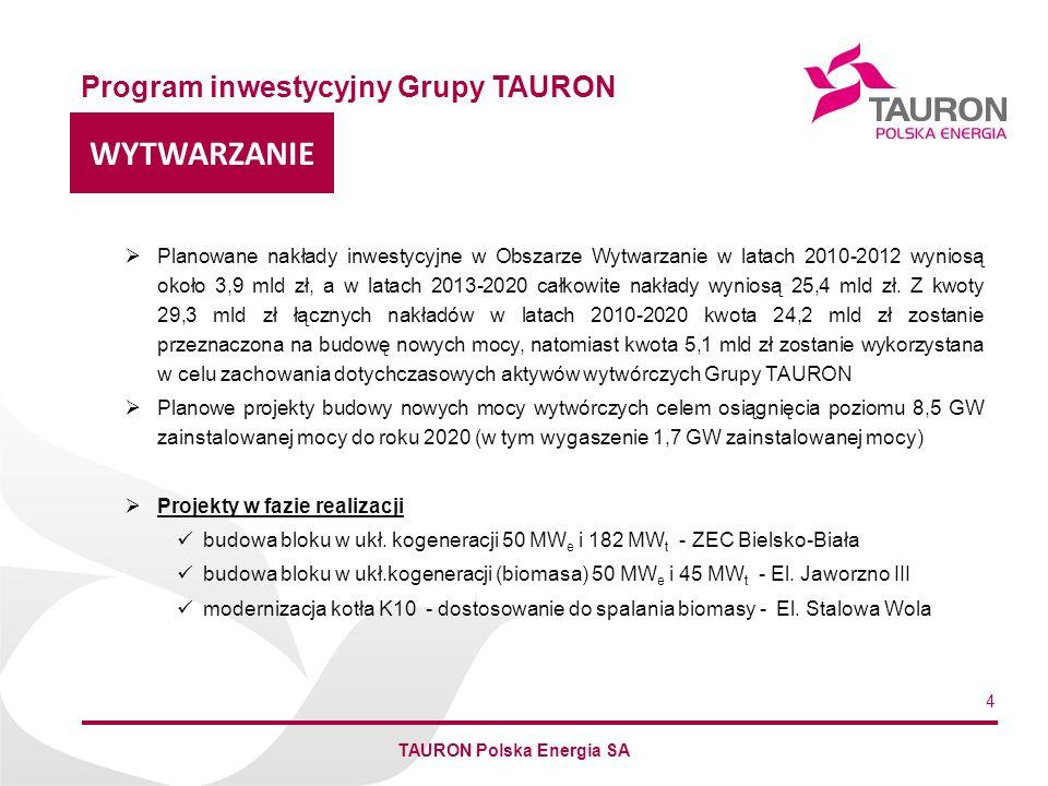 TAURON Polska Energia SA