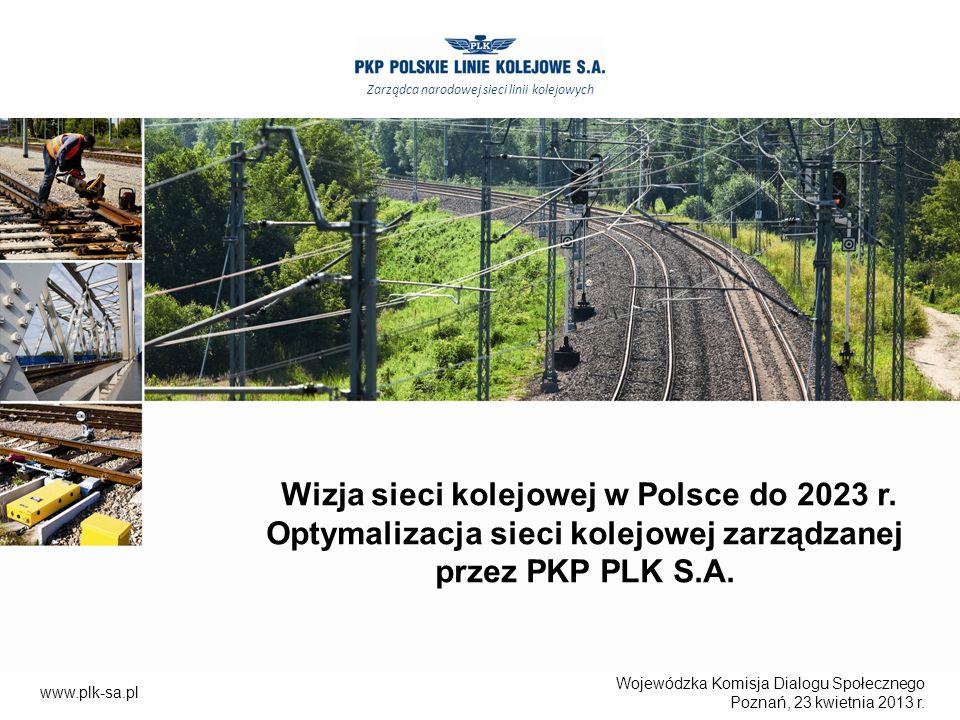 Wizja sieci kolejowej w Polsce do 2023 r.