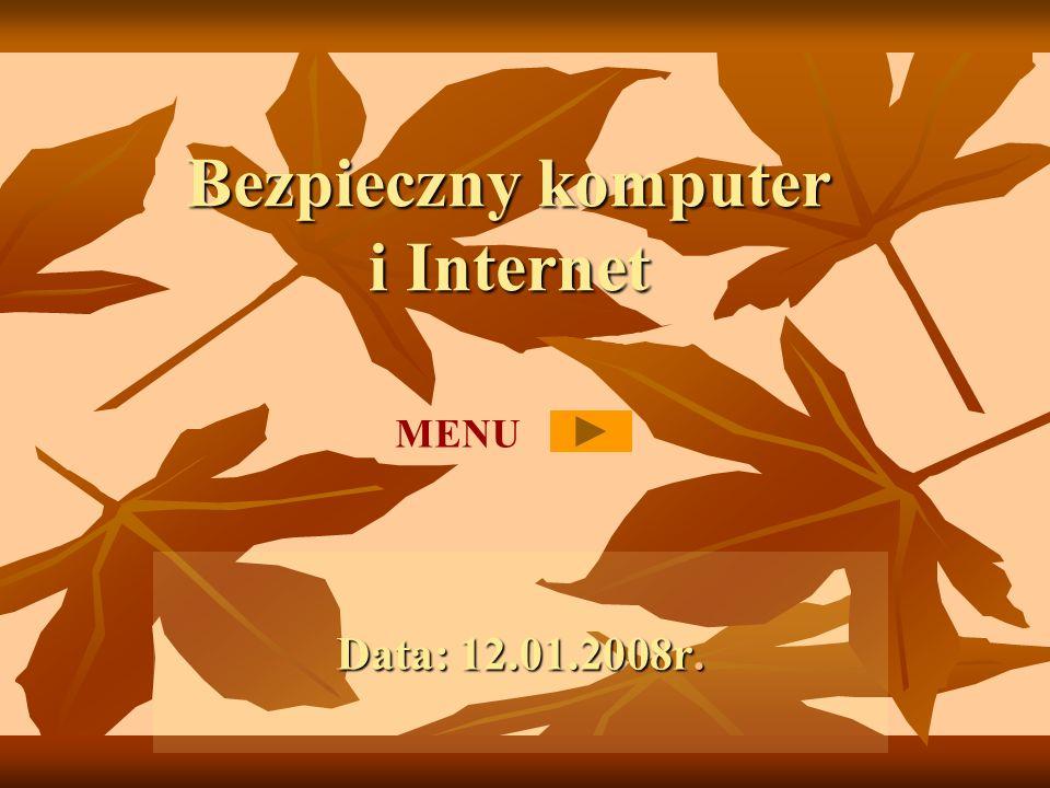 Bezpieczny komputer i Internet
