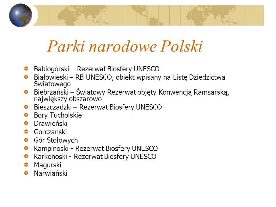 Parki narodowe Polski Babiogórski – Rezerwat Biosfery UNESCO