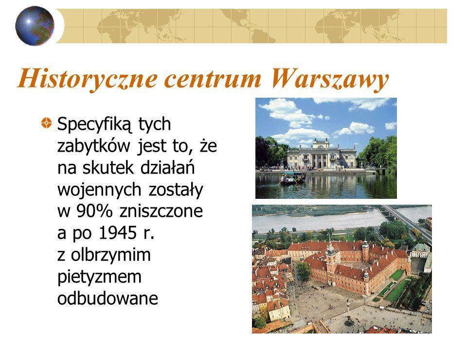 Historyczne centrum Warszawy