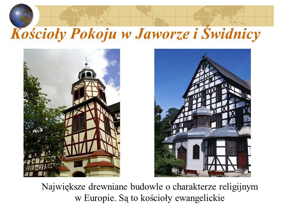 Kościoły Pokoju w Jaworze i Świdnicy