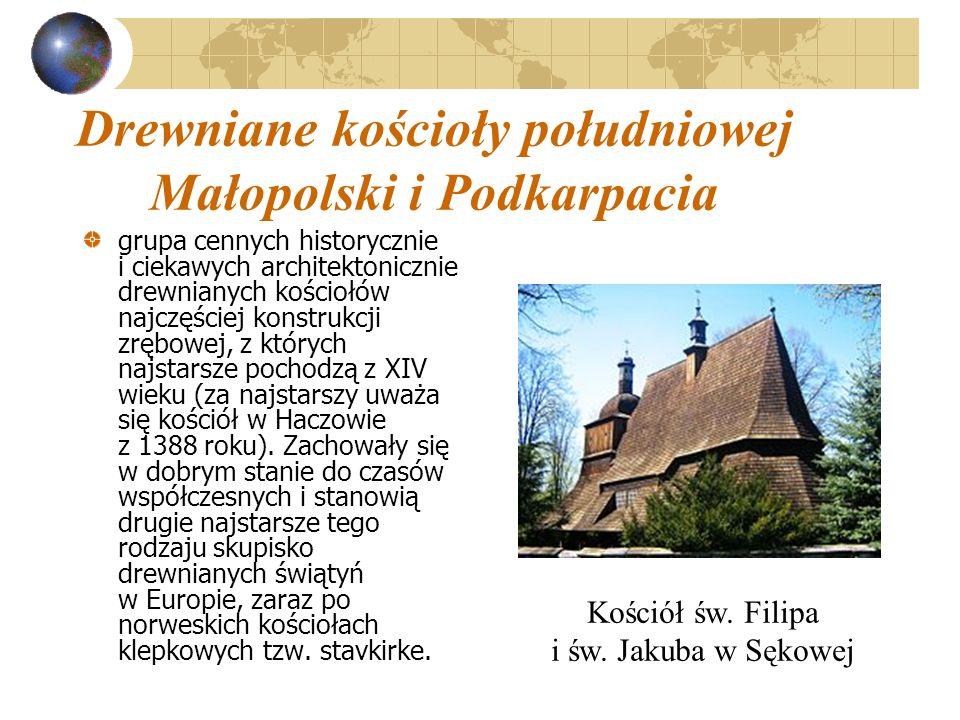 Drewniane kościoły południowej Małopolski i Podkarpacia