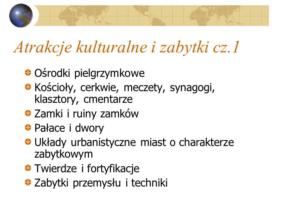 Atrakcje kulturalne i zabytki cz.1