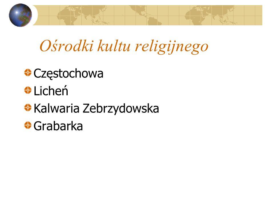 Ośrodki kultu religijnego