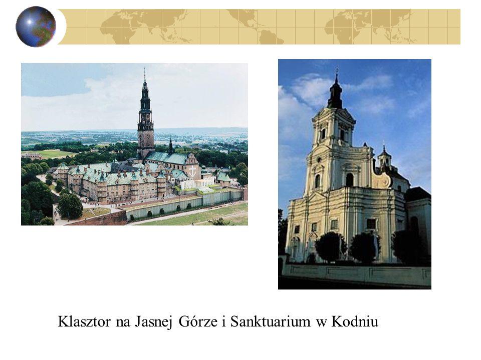 Klasztor na Jasnej Górze i Sanktuarium w Kodniu