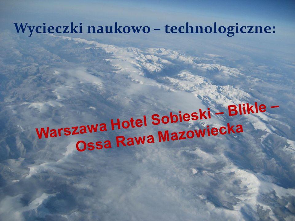 Warszawa Hotel Sobieski – Blikle –