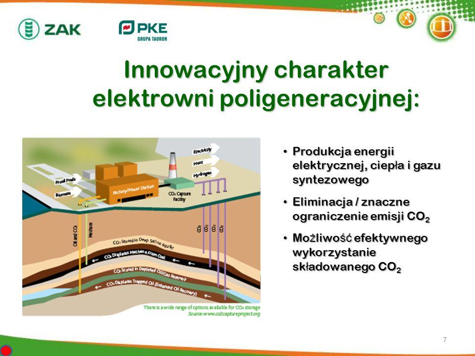 Innowacyjny charakter elektrowni poligeneracyjnej: