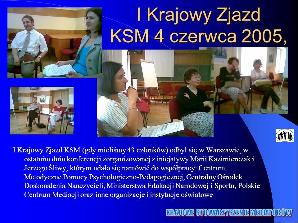 I Krajowy Zjazd KSM 4 czerwca 2005,