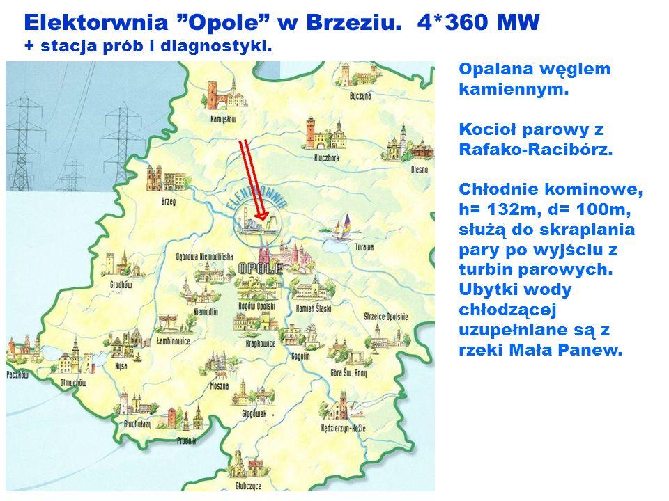 Elektorwnia Opole w Brzeziu. 4*360 MW