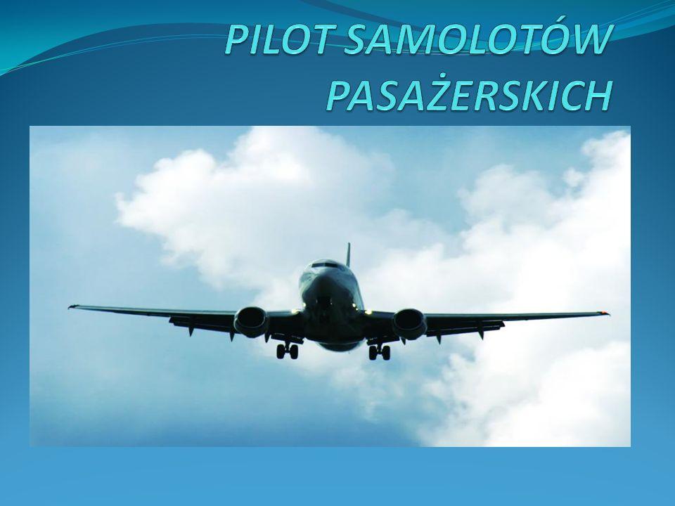 PILOT SAMOLOTÓW PASAŻERSKICH