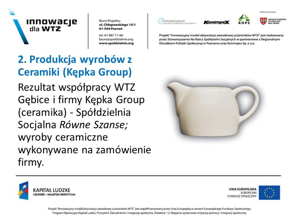 2. Produkcja wyrobów z Ceramiki (Kępka Group)