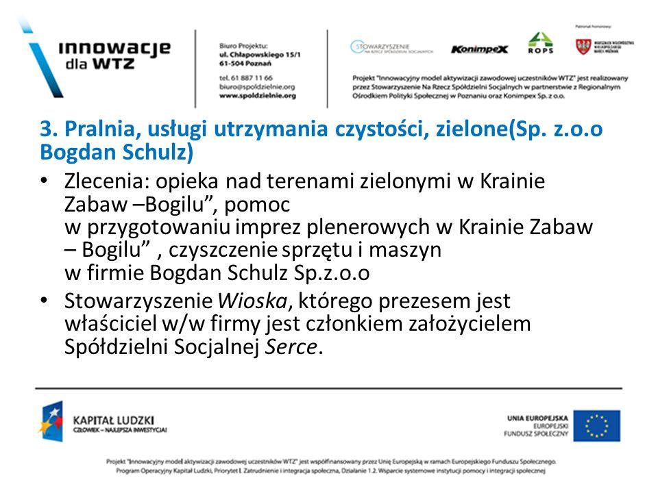 2 3. Pralnia, usługi utrzymania czystości, zielone(Sp. z.o.o Bogdan Schulz)