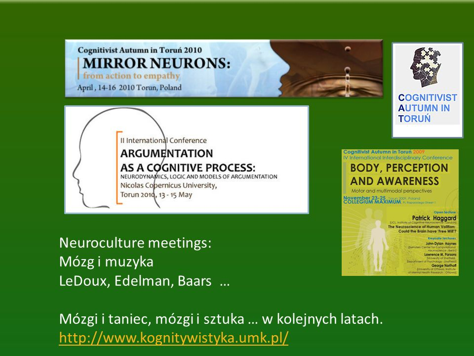 Neuroculture meetings: