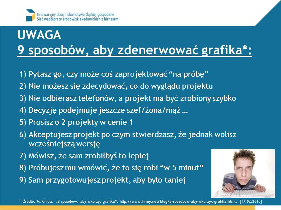 UWAGA 9 sposobów, aby zdenerwować grafika*: