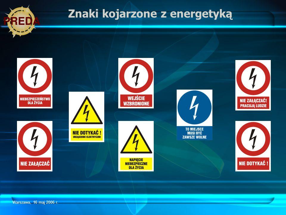 Znaki kojarzone z energetyką