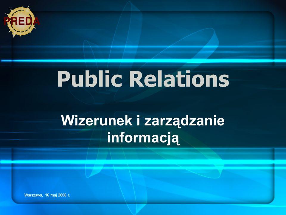 Wizerunek i zarządzanie informacją